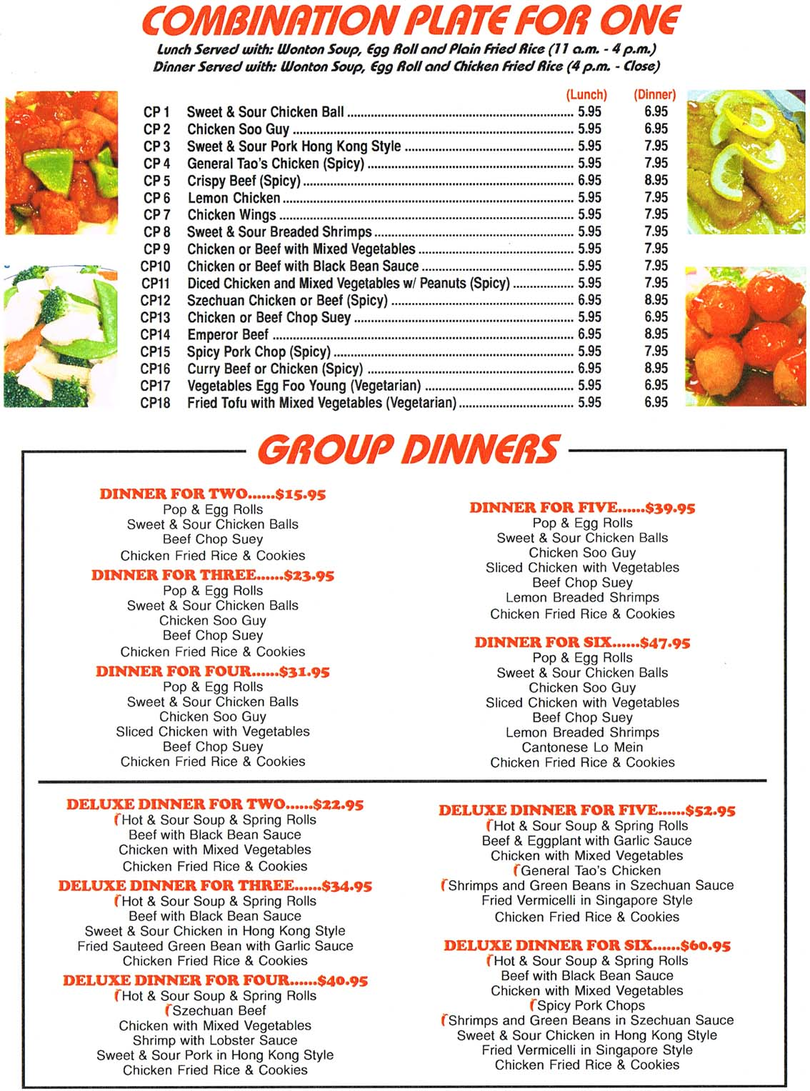 Hing lung restaurant takeout menu page 3 does takeout for Take out menu